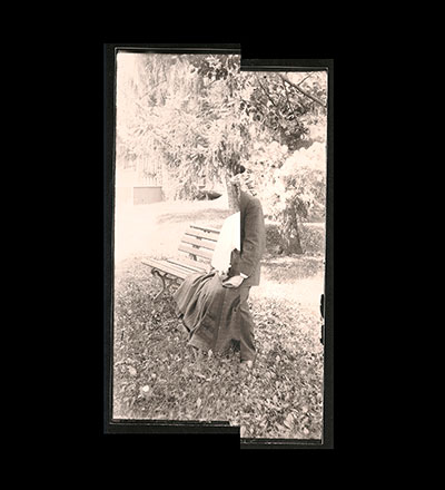 Untitled (Mabel (nee Gibson) & Wm Schmidt) Print