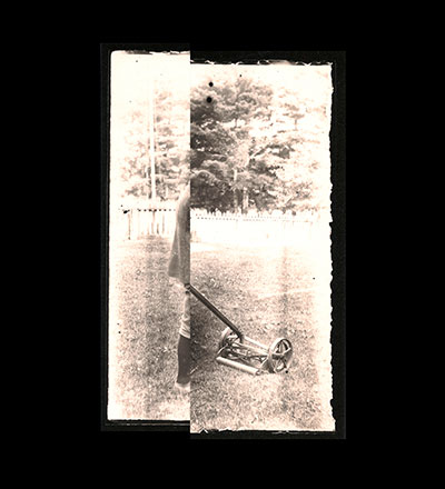 Untitled (Vernon Lawnmower) Print
